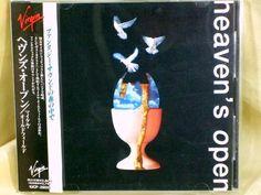 CD/Japan- MIKE OLDFIELD Heaven's Open w/OBI RARE ORIGINAL 1991 VJCP-28015 #ProgressiveArtRock