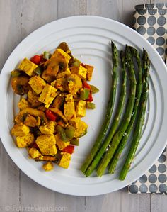 curry-scrambled tofu