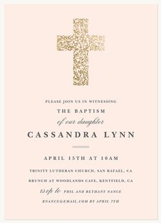 Baptisms & Christening Invitations - Select printing options and begin customizing your card for design 53462 Baptism Invitation For Boys, Christening Invitations Girl, Baby Christening Cakes, Baby Girl Baptism, Photo Invitations, Diy For Girls, Baptisms, Faith, Confirmation