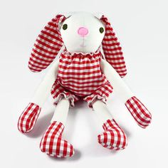 Plush Bunny Doll Gift for Boy and Girl Stuffed Toy Baby Shower Gift