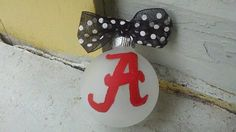 Three Alabama hand Painted Ornaments by Shelithas on Etsy, $10.50
