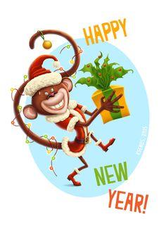 The year of the Monkey by Ksenos-ks on DeviantArt
