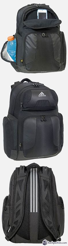 Adidas Backpack Climacool - Best crossfit backpacks for the gym - Learn more at https://backpackies.com/blog/best-crossfit-backpack