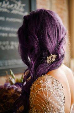 Coloration violet