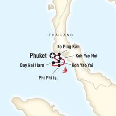 Some of the best snorkeling and diving is around these amazing island in Thailand.