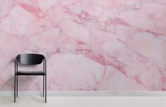 Invite a unique texture to your feature wall with this pink cracked marble wallpaper, a light and fresh mural design. Bathroom Wallpaper, Wall Wallpaper, Bedroom Murals, Wall Murals, Marble Effect Wallpaper, Cracked Marbles, Normal Wallpaper, Marble Pattern, Pink Walls