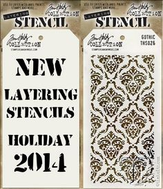 new 2014 products - stampers anonymous...for tim holtz summer 2014 releases