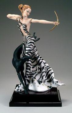 Giuseppe Armani Diana 2236E. Limited Edition 1500. #GiuseppeArmani #Figurine.
