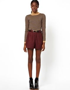 $30 Image 1 of ASOS Tailored Shorts in Soft Touch