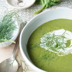 Fennel & Spinach Soup {AIP}