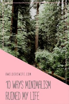 10 Ways Minimalism Ruined My Life Forever - AWelder'sWife Minimal Living, Minimal Home, Hygge, Happy Life, My Life, Becoming Minimalist, Eco Green, Minimalist Apartment, Minimalist Lifestyle