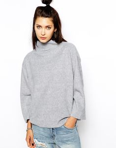 Cheap Monday Fleece High Neck Jumper