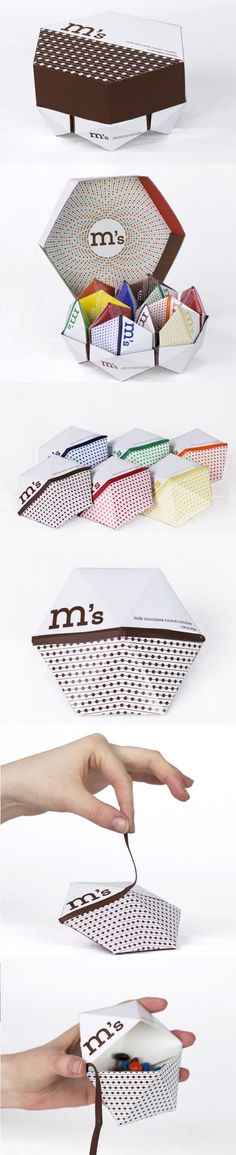 packaging / M&Ms concept by Alyssa Phillips