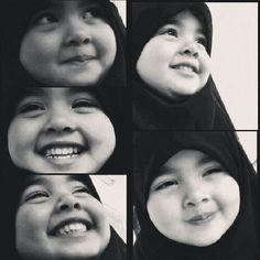 Pretty baby muslim girl