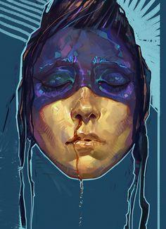 ArtStation - moon, Lilis Coil