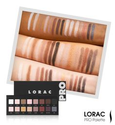 We swatted LORAC's Pro Palette Eye Shadow palette to see how it looked on different skin tones. #Sephora #eyecandy