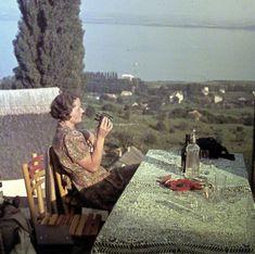 Fotó: Ismeretlen: Badacsony, kilátás a Kisfaludy ház teraszáról, 1936 (fortepan.hu)