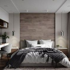 Unordinary Wood Bedroom Design Ideas With Elegant Decoration40 #luxurybedroomsinteriordesign