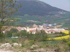 First view of Trinidaid de Arre - Larrasoana to Pamplona