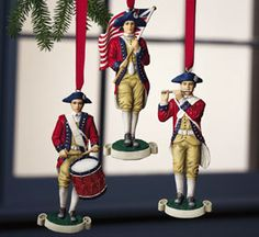 Fife And Drum Ornaments