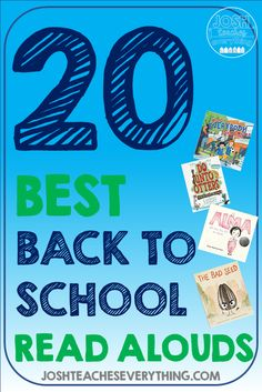 Check out these 20 elementary read alouds for back to school! These fun activities are your survival kit perfect for Kindergarten, 1st, 2nd, 3rd, 4th, and 5th grade.  TIps and ideas to help you hack classroom management and build community while covering standards!  Great for bilingual classes and K, first, second, third, fourth, and fifth grade!  Also get a list of the mentor texts free!