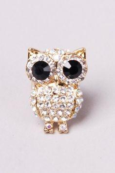 Owl Stretch Ring.