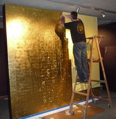 That gold wall you've been looking for.