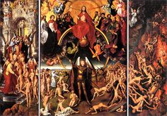 """ Juicio Final"" Hans Memling 1455"