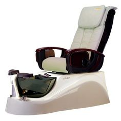 Spa Pedicure Chair - Massage chair and quiet nicely together to form a world-class pedicure system,satistaction for you and your customer. Spa Pedicure Chairs, Pedicure At Home, Pedicure Spa, Spa Chair, Massage Chair, Bounce House Birthday, Nail Salon Furniture, Remote Control Holder, Spa Lighting
