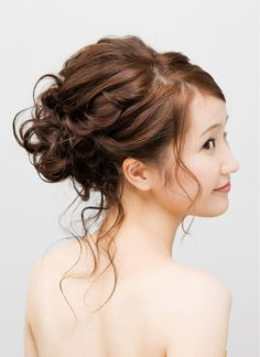 bridesmaid hairstyle with braid