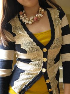 Anthropologie Field Game Cardigan yellow. Got this Jacket in Pink and I love it :)