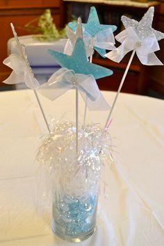 31 best star centerpieces images rh pinterest com star themed baby shower centerpieces Star Themed Candles Centerpieces