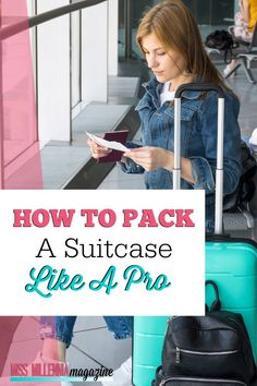 Are you traveling anytime soon? Learn how to pack a suitcase and maximize space like an experienced pro. Suitcase Packing, Packing Tips For Travel, Travel Hacks, Travel Ideas, Youth Camp, Find Cheap Flights, Thing 1, Girls Getaway, Maximize Space