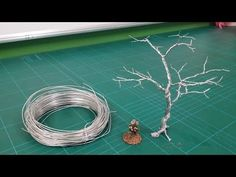 Realistic Scenic Trees - Wire Armatures (Twist technique) - YouTube