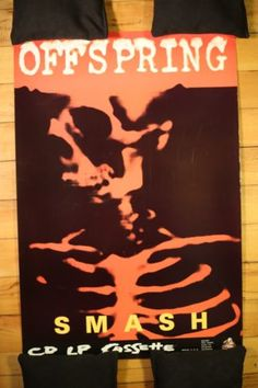 THE OFFSPRING - Rare SMASH promo poster FOR SALE