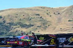 At-track photos: Sonoma and Iowa Weekend Sunday, June 25, 2017 Erik Jones, driver of the No. 77 5-hour Energy Extra Strength Toyota, has his backup car pulled out of the hauler during practice for the Monster Energy NASCAR Cup Series Toyota/Save Mart 350 at Sonoma Raceway on Friday. Photo Credit: Jared C. Tilton/Getty Images Photo: 47 / 79