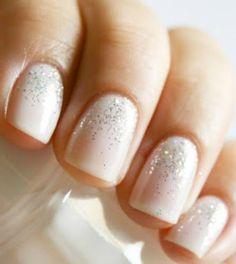 Wedding Day Nail Art on itsabrideslife.com/Wedding Nails/Nail Designs/Bridal Nails