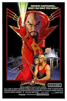 Flash Gordon movie poster.