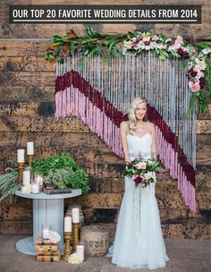 Our Favorite Wedding Decor + Details from 2014