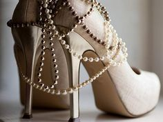 shoes and pearls: my two favorite things