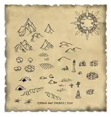 fantasy map symbols - Buscar con Google