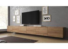 Tv Wall Design, House Design, Living Room Wall Units, Ceiling Storage, Tv Decor, Home Decor, Calgary, Home Tv, Home Interior Design