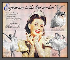 check out this vintage ad featuring Kathryn Lee ~