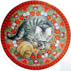 Lesley Anne Ivory Meet My Kittens February Ruskin Calender Plate | eBay