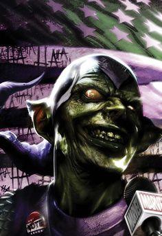 Norman Osborn/Green Goblin by Francesco Mattina