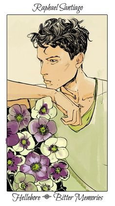 From the all wonderful Cassandra Jean ...   raphael santiago, the mortal instruments