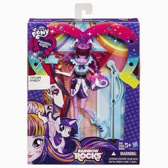 Twilight Sparkle Rockin' Hair Rainbow Rocks Equestria Girls Doll