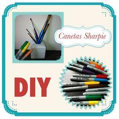 Tutorial DIY com canetas sharpie #blogcheztoi