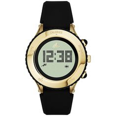 adidas originals Watches Urban Runner Digital Silicone Watch Women's ($145) ❤ liked on Polyvore featuring jewelry, watches, black, fashion accessories, silicone watches, digital wrist watch, kohl jewelry, silicone wrist watch and silicone jewelry
