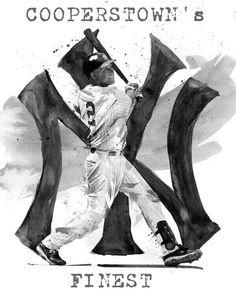 Derek Jeter - Captain Clutch - Yankees - yankees fan - baseball fan - Cooperstown bound - my design